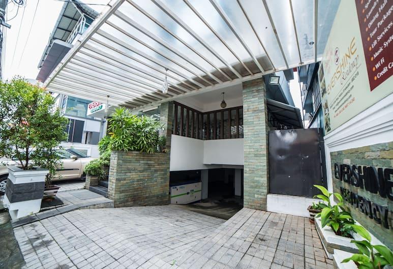 Evershine Residency, Kochi, Hotel Front