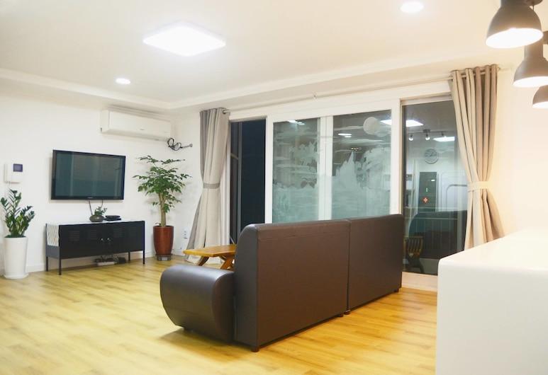 NANA House - Hostel, Soul, Ubytování ve společné místnosti, pouze pro muže (4 people), Obývací pokoj