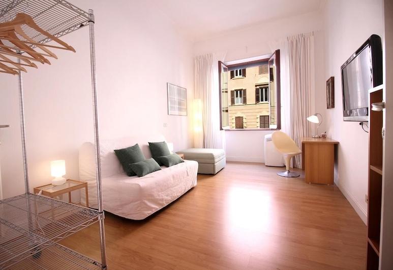 梵蒂岡驚喜漫步酒店, 羅馬, 公寓, 1 間臥室, 客廳