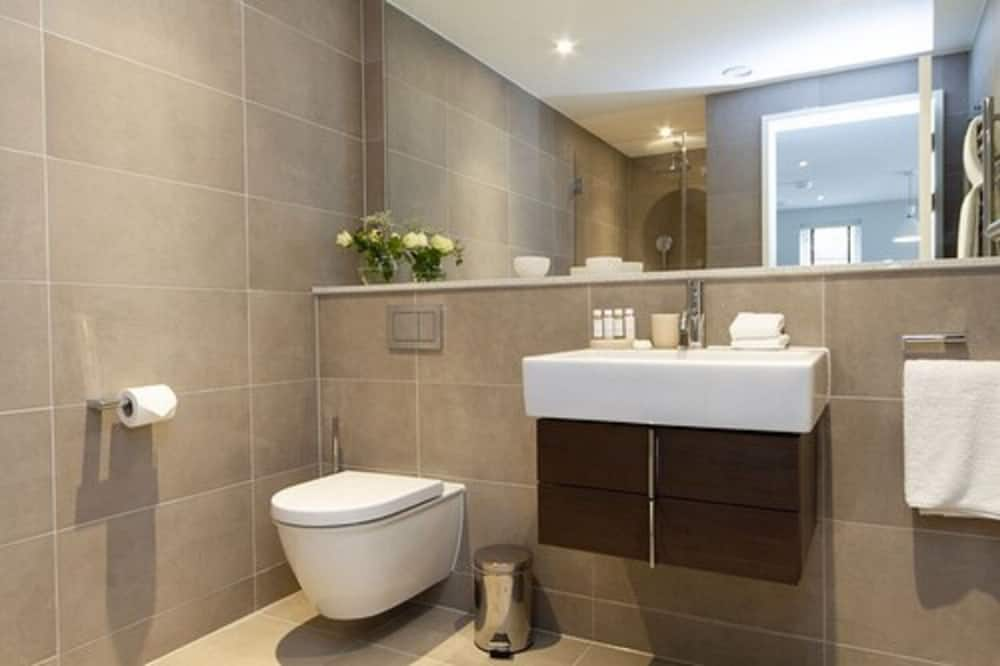 Business-Apartment, 1King-Bett, Nichtraucher - Badezimmer