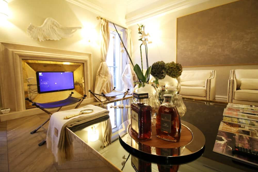 Apartmán typu Deluxe, 3 spálne - Obývačka