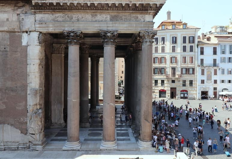 Admire the Pantheon from Your Sofa, Rome, Apartment, 1 Bedroom, View from room