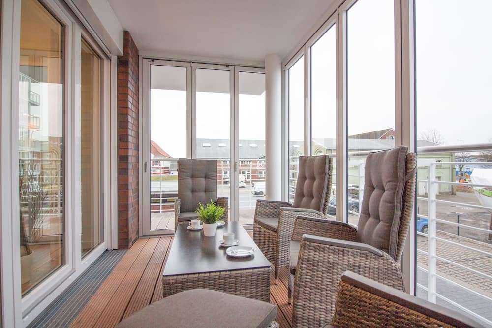 Apartment (W25, incl. end cleaning fee €63) - Balcony