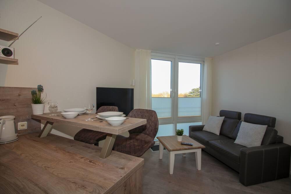 Apartamentai (incl. end cleaning fee €53) - Svetainės zona