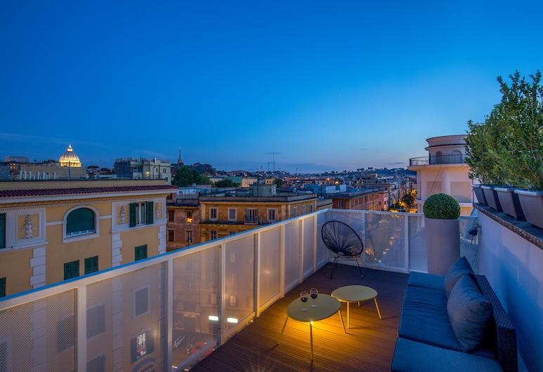 Wonder Vatican Terrace, Rom, Lägenhet - 1 sovrum - terrass, Terrass