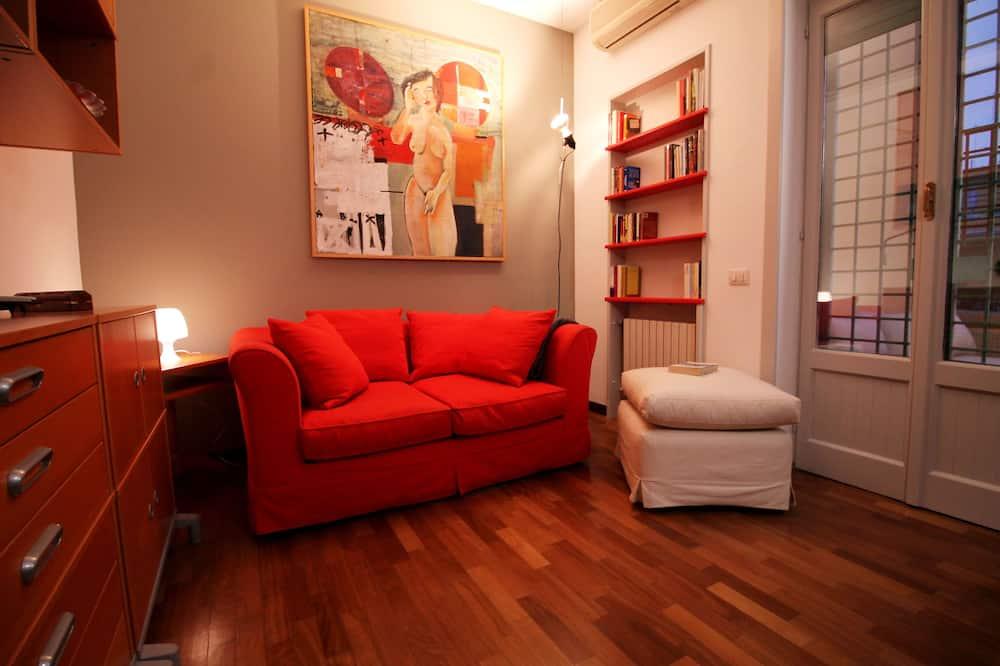 Apartamentai, 1 miegamasis, terasa - Svetainė