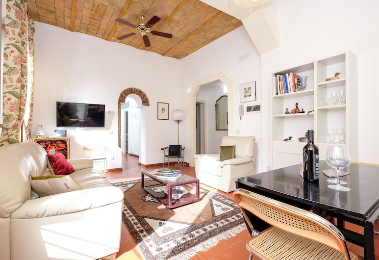 Wonder Cobblestone Walk, Rome, Apartment, 1 Bedroom, Living Area