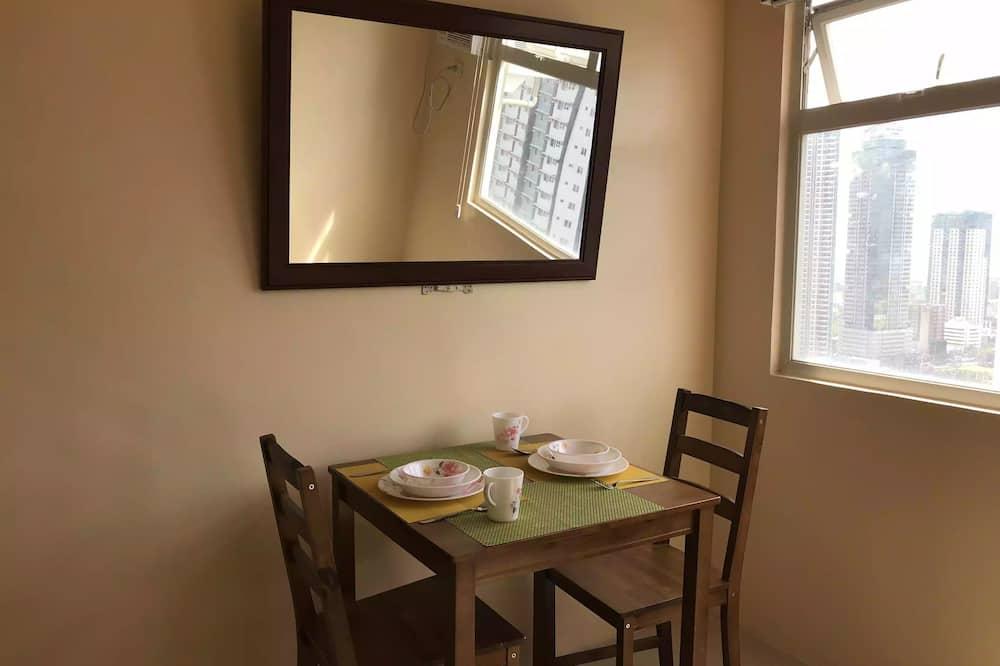 公寓客房, 1 間臥室, 非吸煙房 - 客房餐飲服務