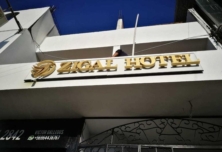 Zigal Hotel, Antofagasta, Fachada do Hotel