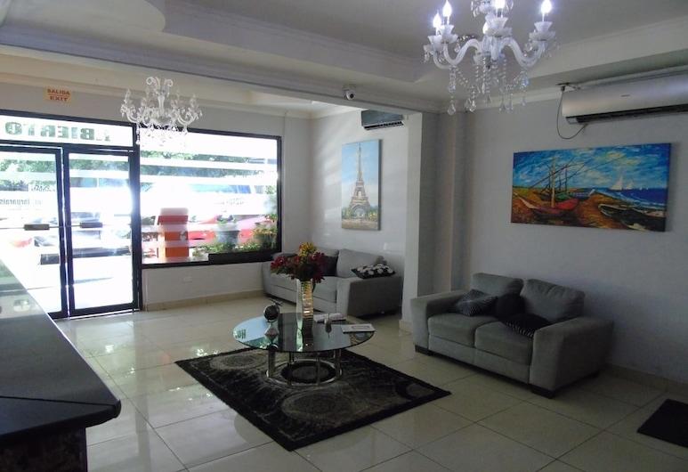 Hotel Marparaiso, Cidade do Panamá, Receção