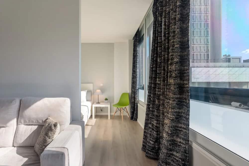 Lägenhet City - 1 sovrum - icke-rökare - Vardagsrum