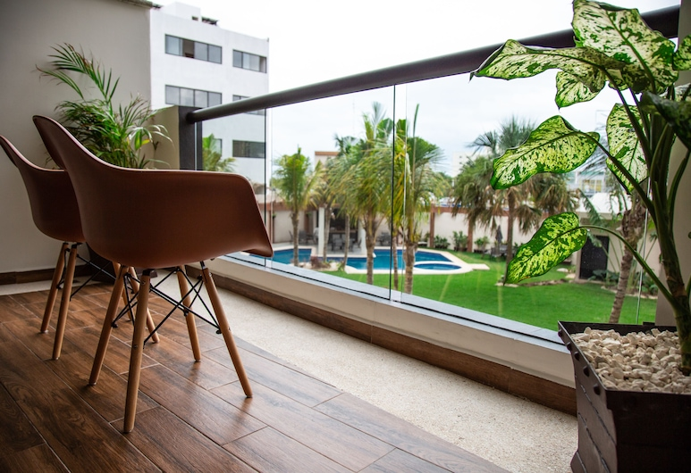 Tres Soles Apartments, Cancun, Terrass
