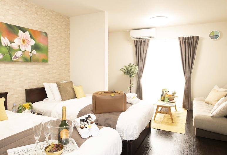 Palm Springs Miyakojima Resort, Mijako-sziget, apartman (Fan Flower (F)), Szoba