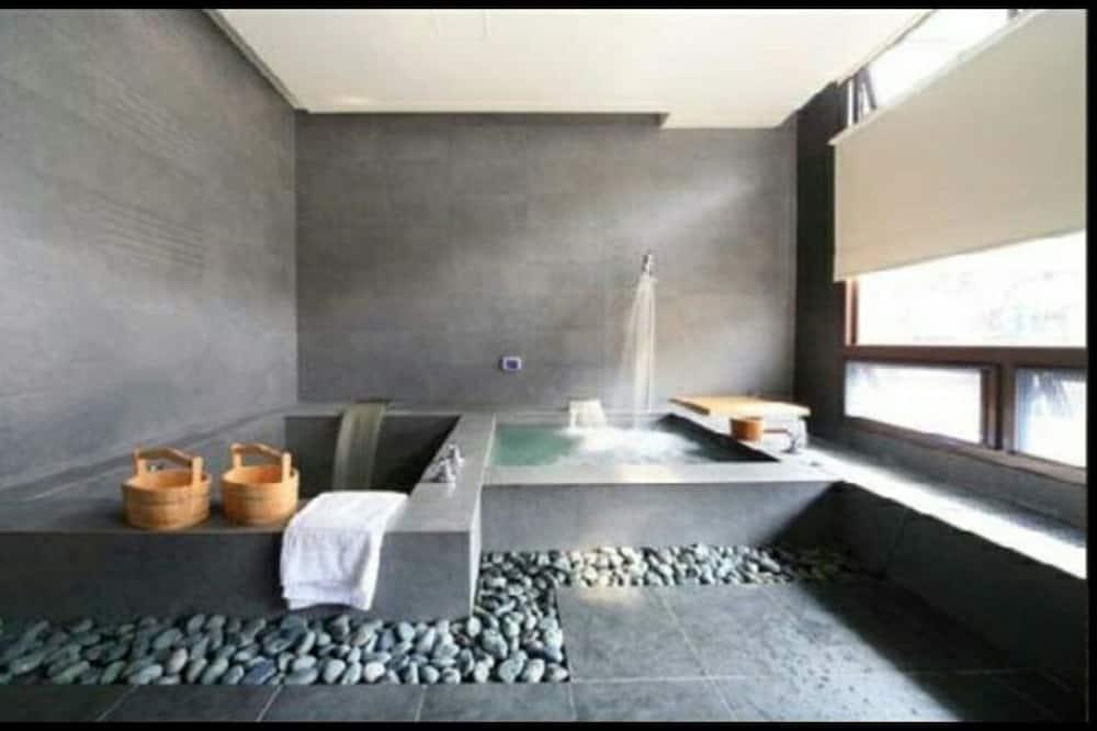 Ištaigingo stiliaus dvivietis kambarys - Vonios kambarys