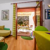 Classic-Apartment, 1 Schlafzimmer, Erdgeschoss - Wohnbereich