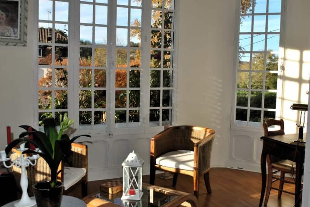 Comfort-Doppelzimmer, Nichtraucher (Chambre Baldaquin) - Wohnbereich