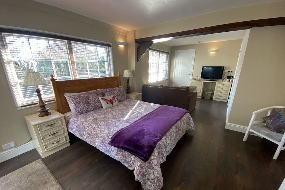 Superior-Doppelzimmer, 1Doppelbett und Schlafsofa, Nichtraucher (Parlour) - Wohnbereich