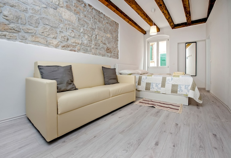 Apartment CA 1620 - Rosa Selvatica, Rovinj, Appartement, Coin séjour