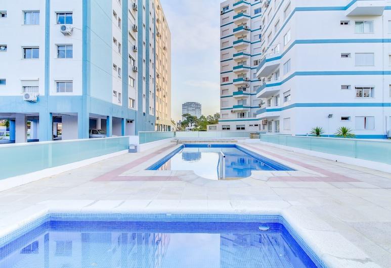 Completo Monoambiente para 3 en Avenida Italia - Edificio Luna de Mar, Punta del Este, Medence