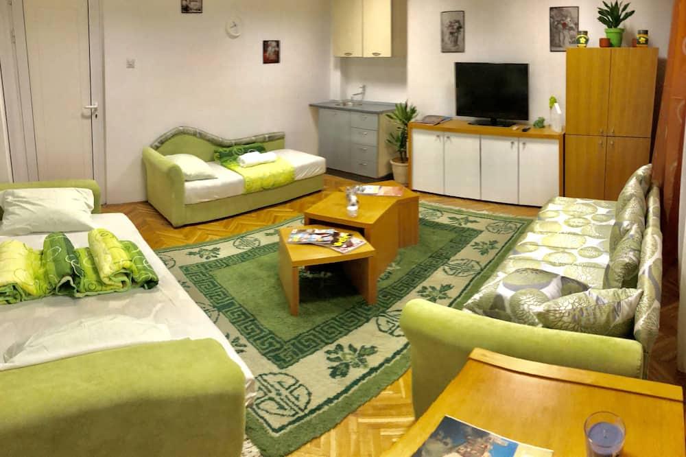 Economy Δίκλινο Δωμάτιο (Double), Κοινόχρηστο Μπάνιο - Περιοχή καθιστικού