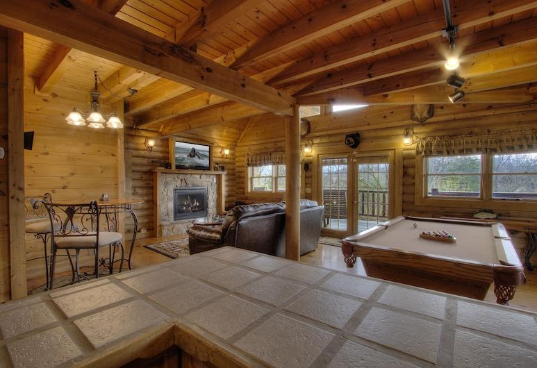 A Moonlight Ridge 162 - One Bedroom Cabin, Sevierville, Wohnzimmer
