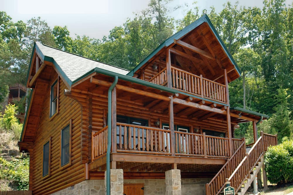Cabin, Multiple Beds, Hot Tub, Mountain View - Room