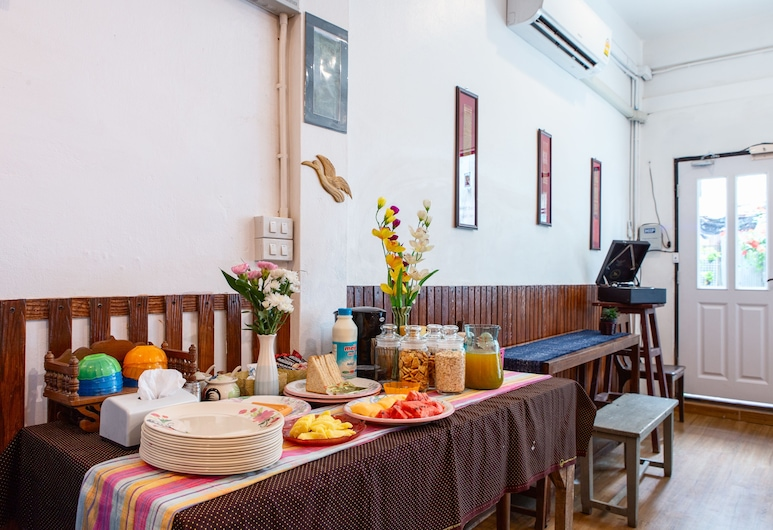 FoRest Bed & Brunch - Hostel, Bangkok, Poczekalnia w holu