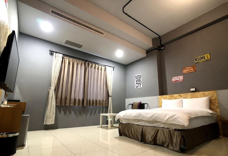 Kenting True Color Hostel, Hengchun, Dvojlôžková izba typu Economy (106), Hosťovská izba