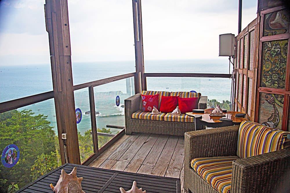 Панорамний номер-люкс - Балкон
