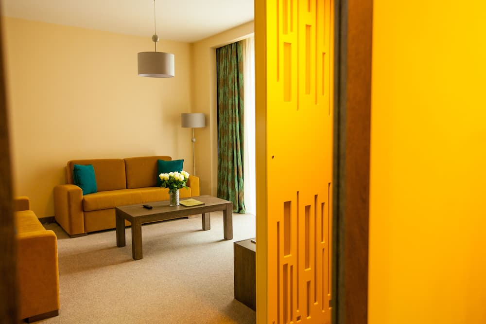 Junior-Apartment, 1 Schlafzimmer - Wohnzimmer