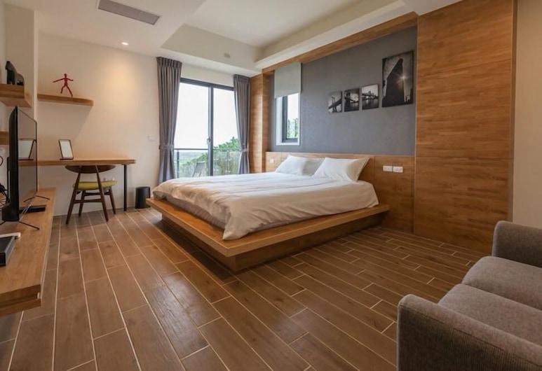 晨曦森林民宿, 鳳林鎮, 雙人房, 1 張標準雙人床, 非吸煙房, 客房