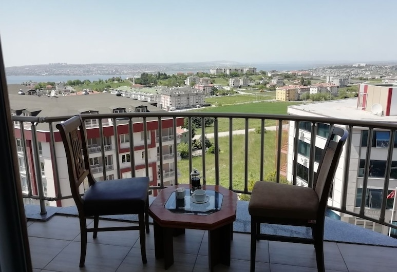 NY World Hotel, Estambul, Habitación básica, 1 cama de matrimonio, vistas al mar, Balcón
