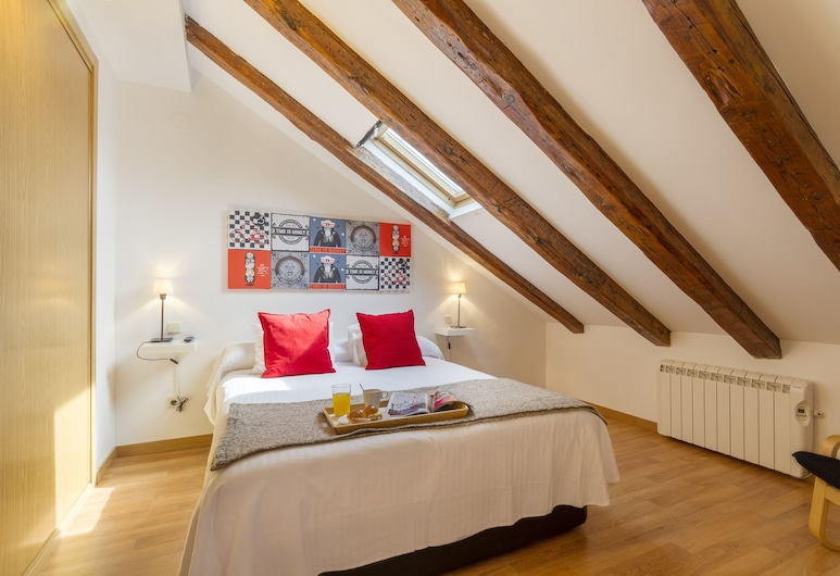 7rooms7 Plaza Mayor Apartments, Madryt, Apartament, 1 sypialnia (Suite), Pokój