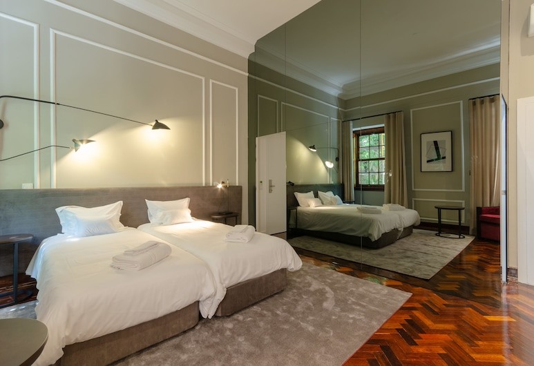 Le Jardin, Lisbon, Twin Room, Guest Room