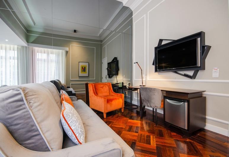 Le Jardin, Lisabon, Rodinná izba, Obývacie priestory