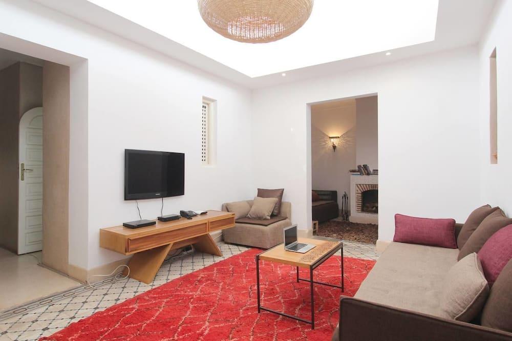 Dům typu Deluxe, více lůžek, nekuřácký - Obývací prostor
