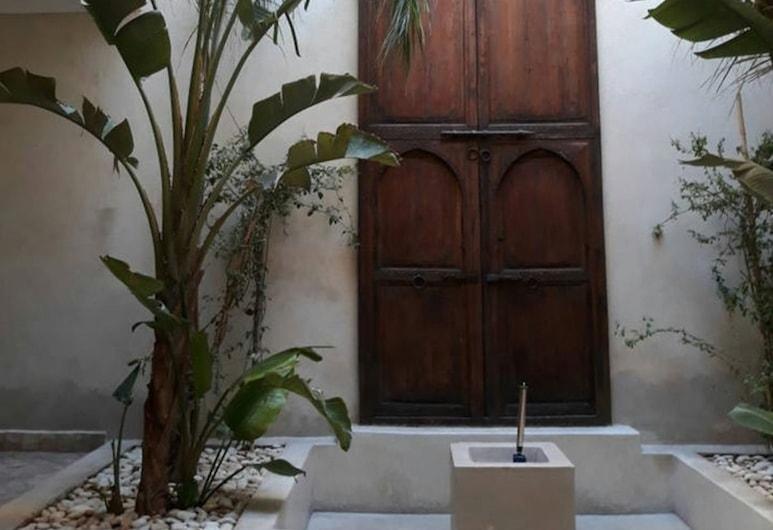 時髦庭院陽台花園甜蜜法尼耶特飯店, 馬拉喀什, 傳統獨棟房屋, 露台