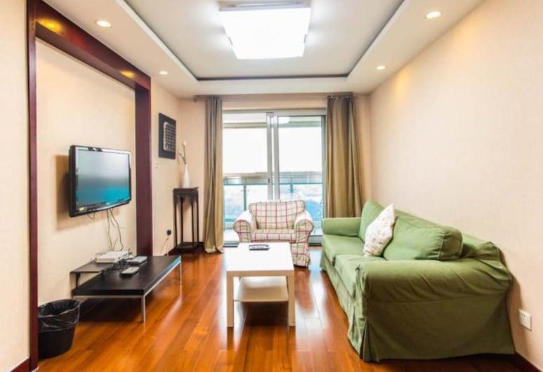 佳佳陽光服務公寓 (上海徐家匯店), 上海, 二室一廳景觀套房, 客廳
