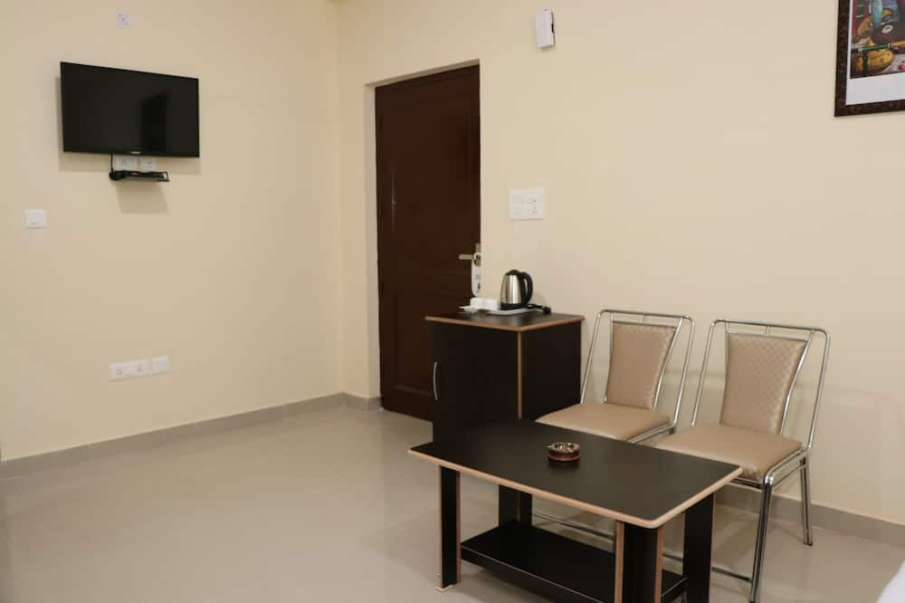 Premium dubbelrum eller tvåbäddsrum - 1 queensize-säng - icke-rökare - Vardagsrum
