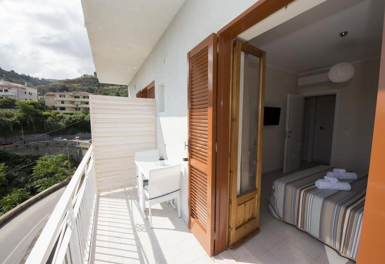 Donna Rosa Accommodation, Tropea, Chambre Double, vue mer (5), Terrasse/Patio