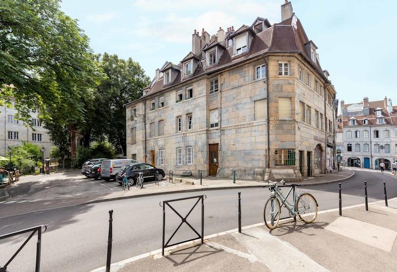 La Felicita, Besançon, Façade de l'hôtel