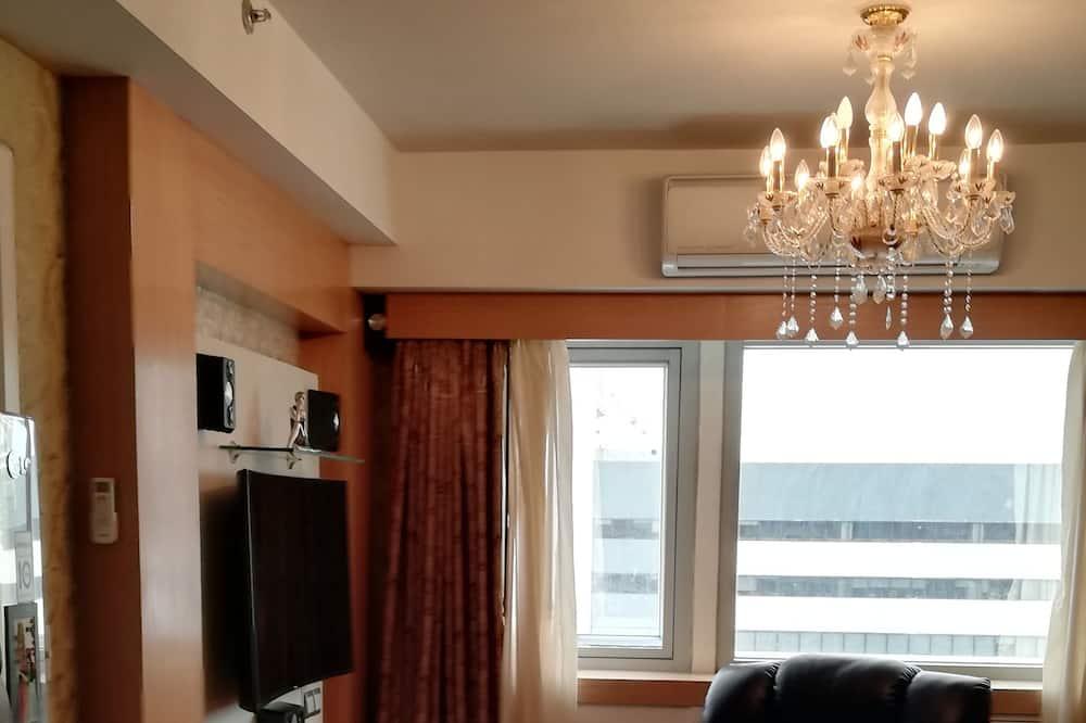 Lägenhet - 1 sovrum (Unit) - Vardagsrum