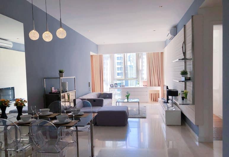 GetaWay Home Suite KLCC, Kuala Lumpur, Superior Two Bedroom Suite, Living Room