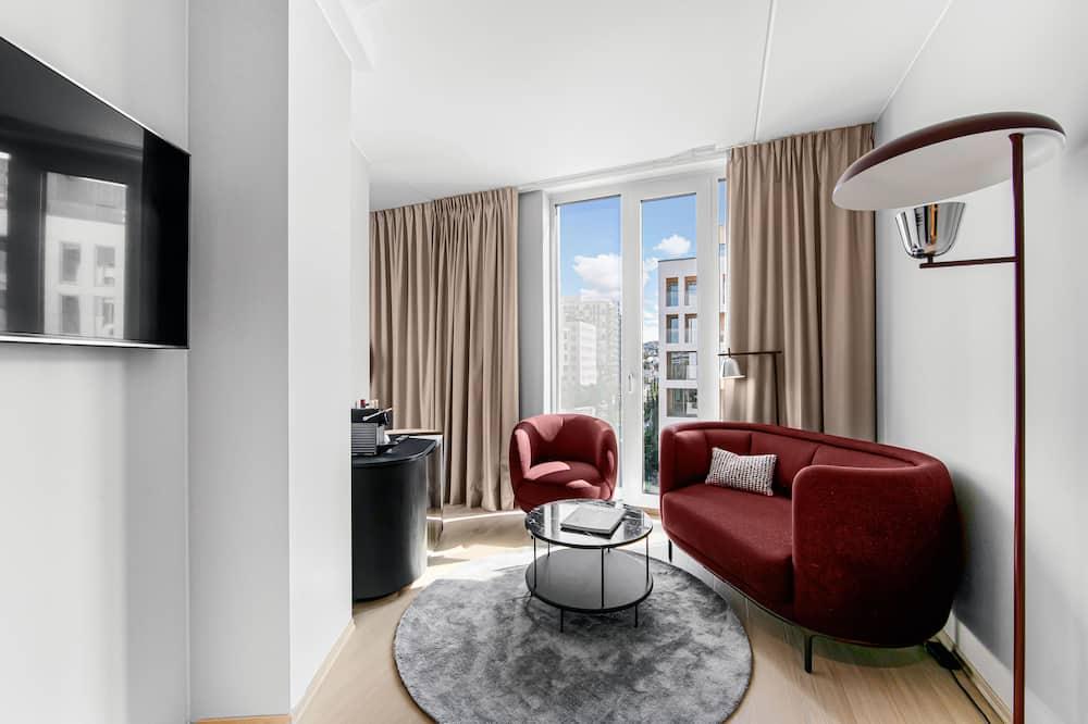 Стандартний номер-люкс, 1 двоспальне ліжко, для некурців - Житлова площа