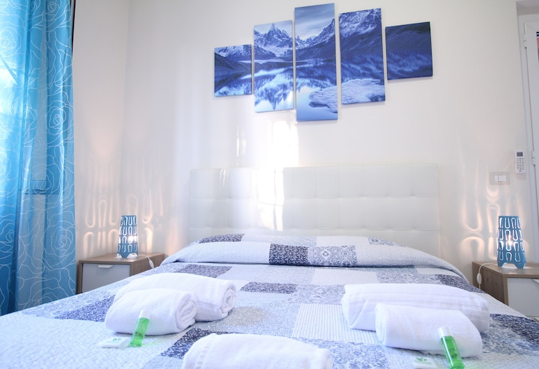 Roma Apartments Romanina, Rome, Deluxe Apartment, 2 Bedrooms, Balcony, City View, View from room