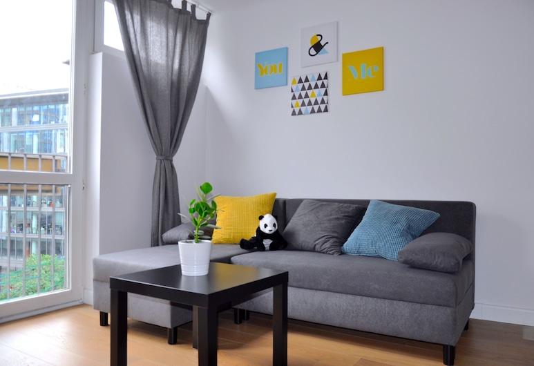 Panda Apartments Grzybowska Modern, Varšava, Paaugstināta komforta dzīvokļnumurs, Dzīvojamā zona