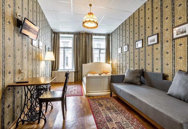 Old Friends, San Pietroburgo, Doppia Superior, 1 letto matrimoniale con divano letto, Camera
