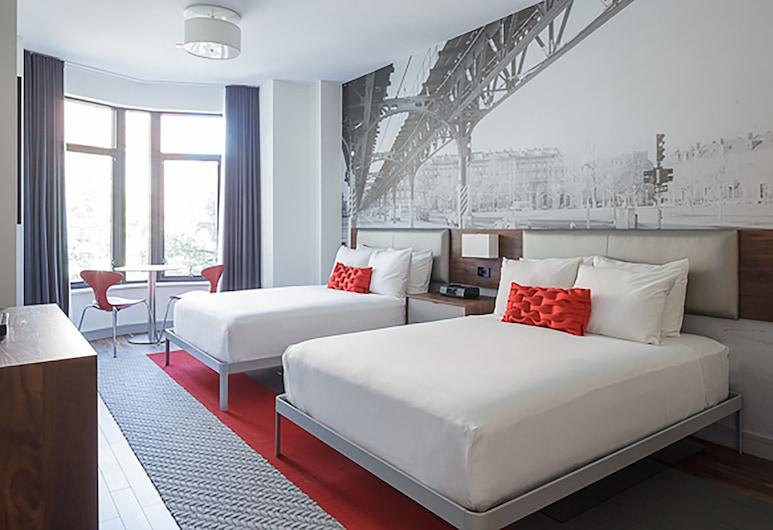 The Revolution Hotel, Μπόστον, Λοφτ, 2 Διπλά Κρεβάτια, Δωμάτιο επισκεπτών