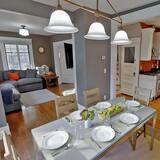 Ferienhaus, 4Schlafzimmer, Küche - Essbereich im Zimmer