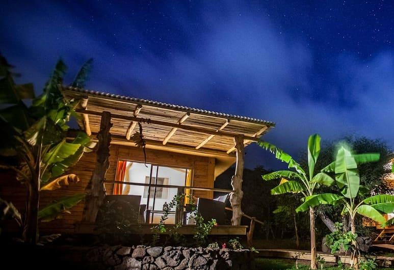 科納科雅旅館, Hanga Roa, 單棟小屋, 1 間臥室, 私人浴室 (Kau-Pora), 陽台